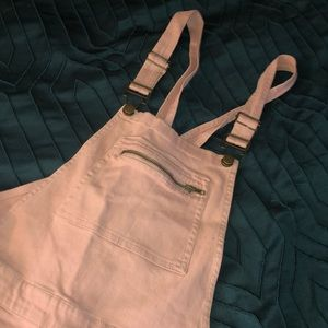 Pastel Pink overalls